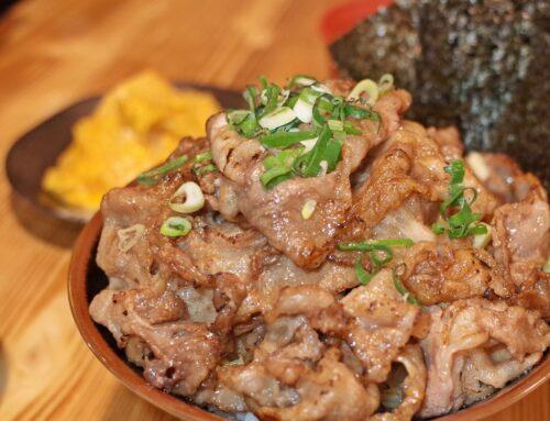 【好食分享】新竹北門街 川牛木石亭 銷魂燒肉丼飯,CP值超高的日式宵夜餐廳